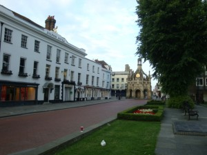 The former Dolphin & Anchor Hotel, Chichester