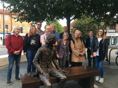 John Keats arrives in Chichester!