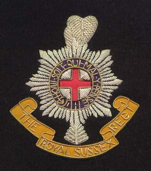 Royal Sussex Regiment Badge